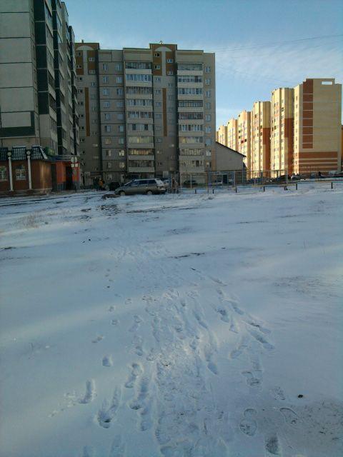 снежная улица